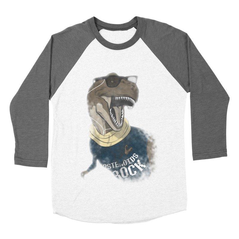Hipstereosaurus Rex Women's Baseball Triblend T-Shirt by trekvix's Artist Shop