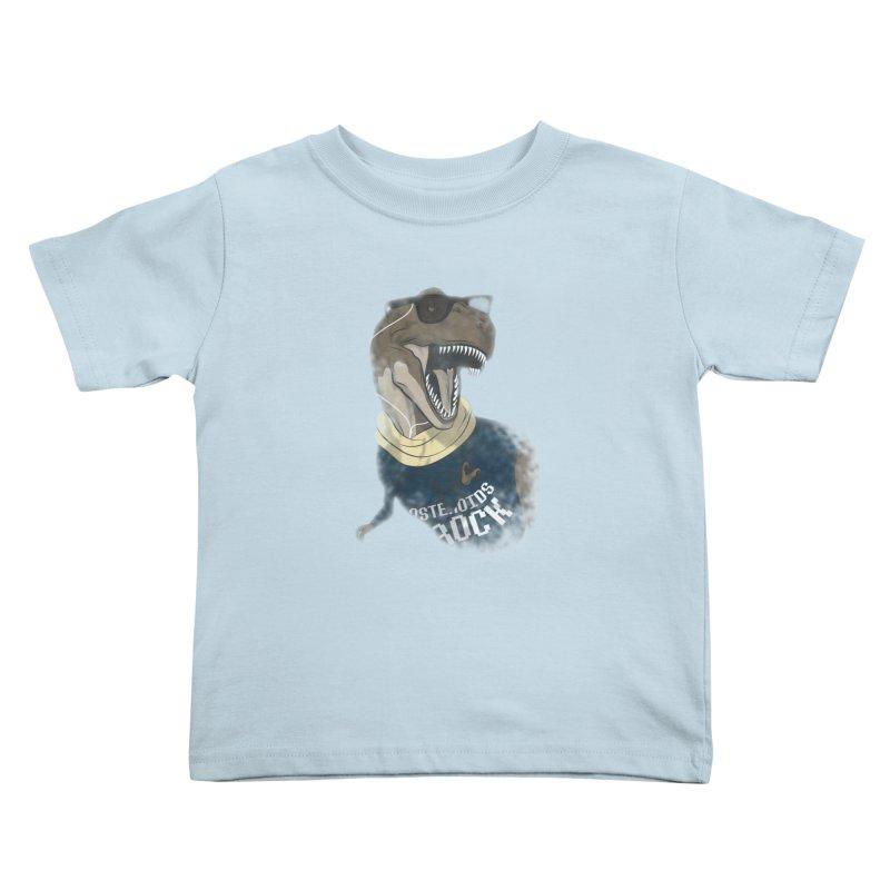 Hipstereosaurus Rex Kids Toddler T-Shirt by trekvix's Artist Shop