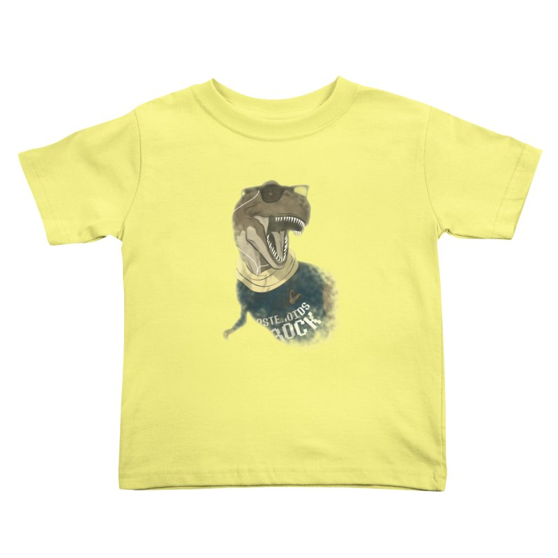 Hipstereosaurus Rex Kids Toddler T-Shirt by trekvix's Artist Shop