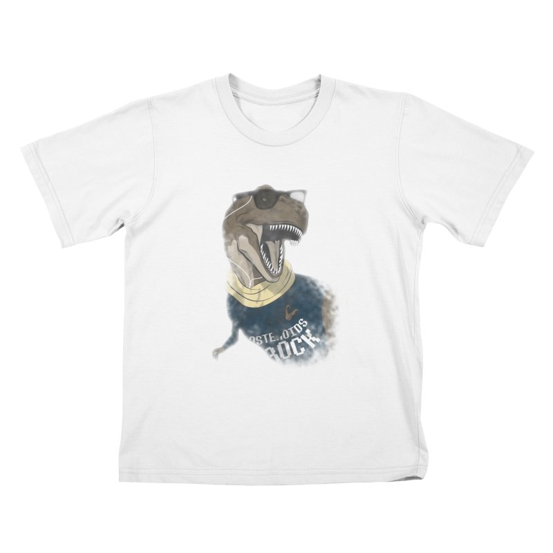 Hipstereosaurus Rex Kids T-shirt by trekvix's Artist Shop