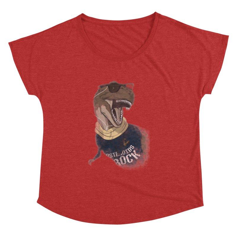 Hipstereosaurus Rex Women's Dolman by trekvix's Artist Shop