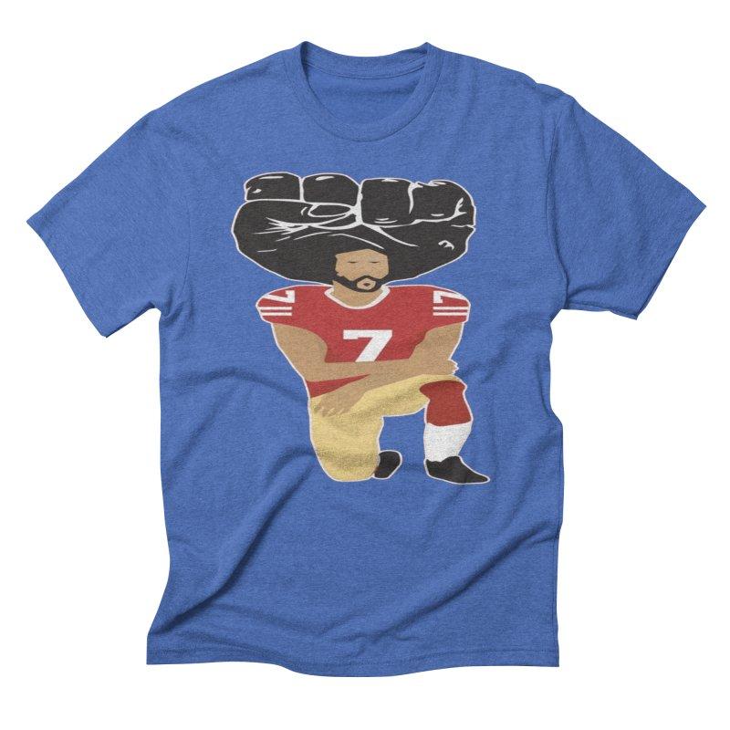 0666d7db Colin Kaepernick Kneeling Men's T-Shirt by trendtshirt's Artist Shop