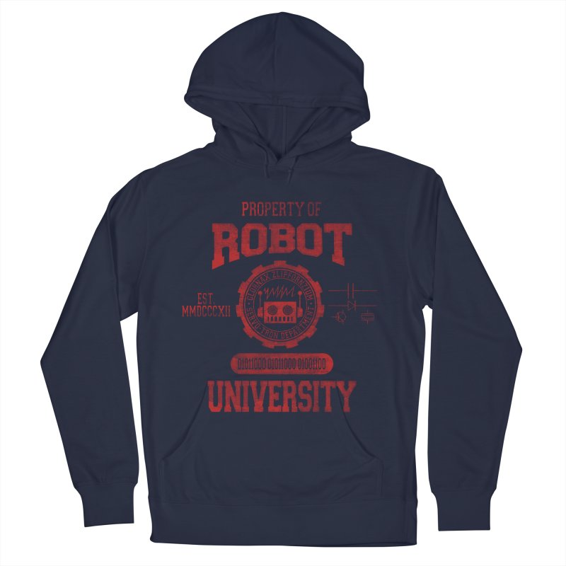 Robot University Women's Pullover Hoody by TREVOUR