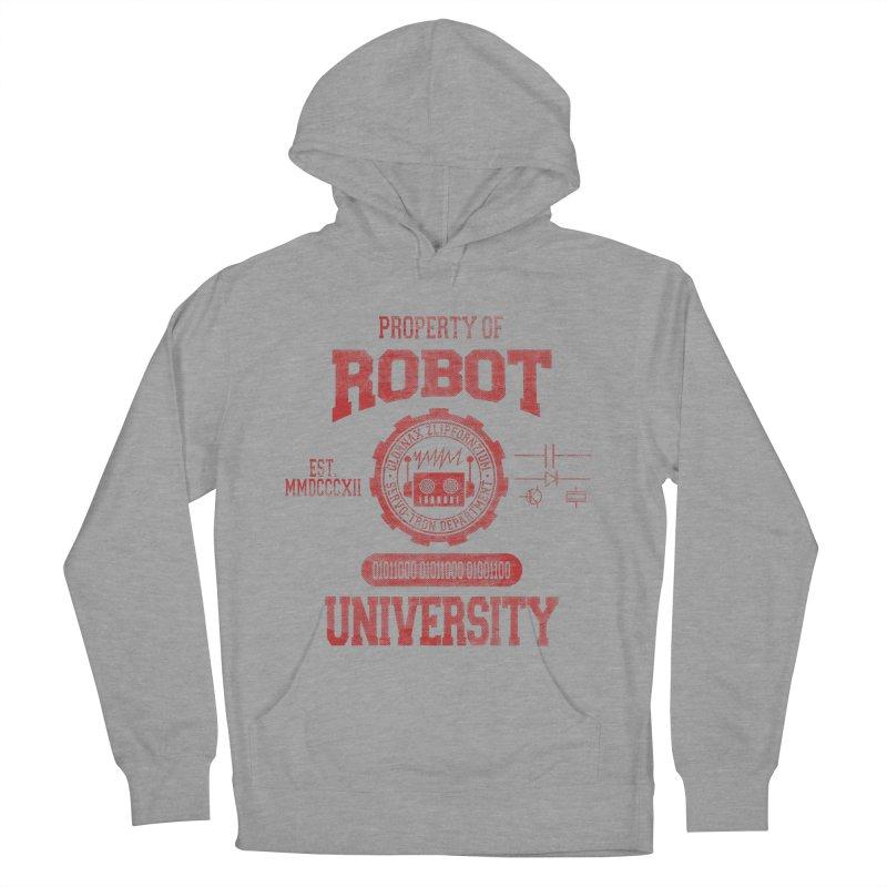 Robot University Men's Pullover Hoody by TREVOUR