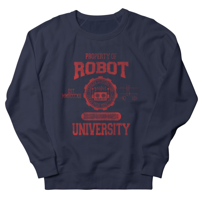 Robot University Women's Sweatshirt by TREVOUR