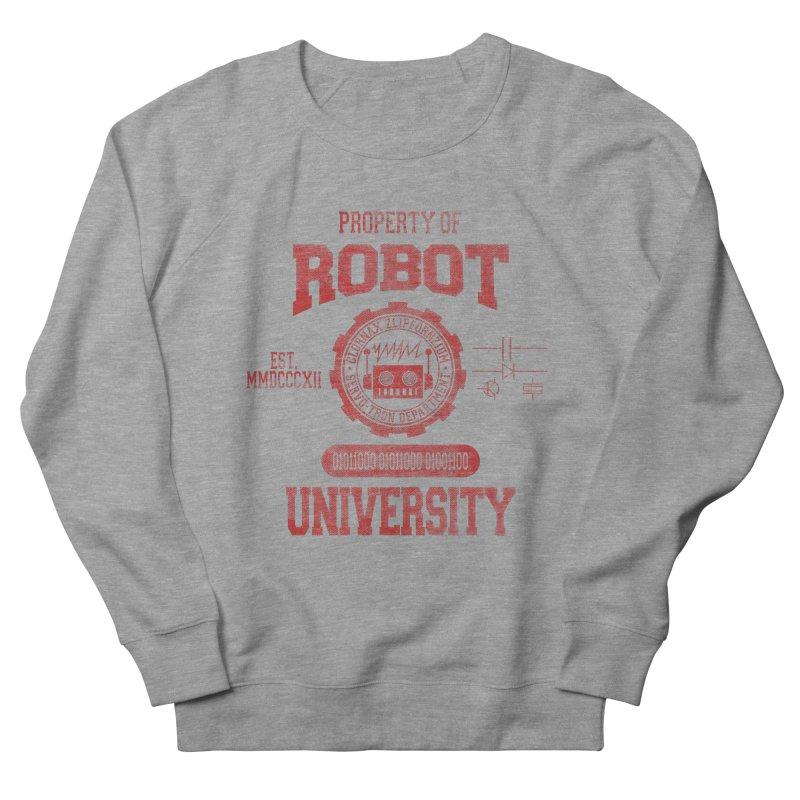 Robot University Men's Sweatshirt by TREVOUR