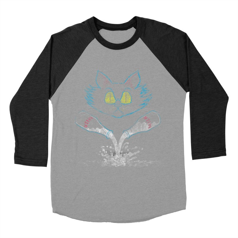 Mix-N-Milks Women's Baseball Triblend T-Shirt by TREVOUR