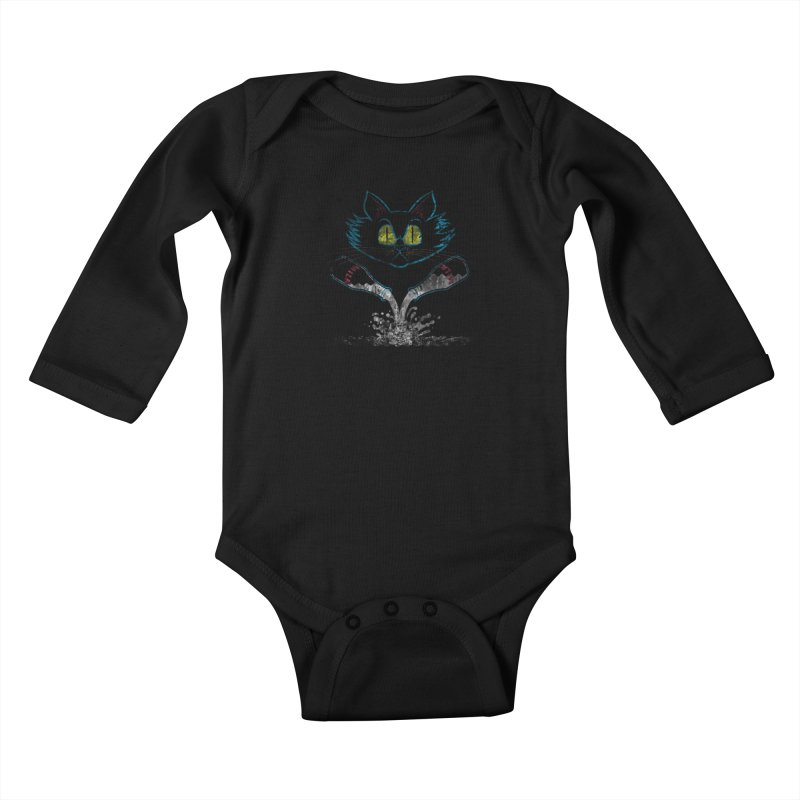 Mix-N-Milks Kids Baby Longsleeve Bodysuit by TREVOUR