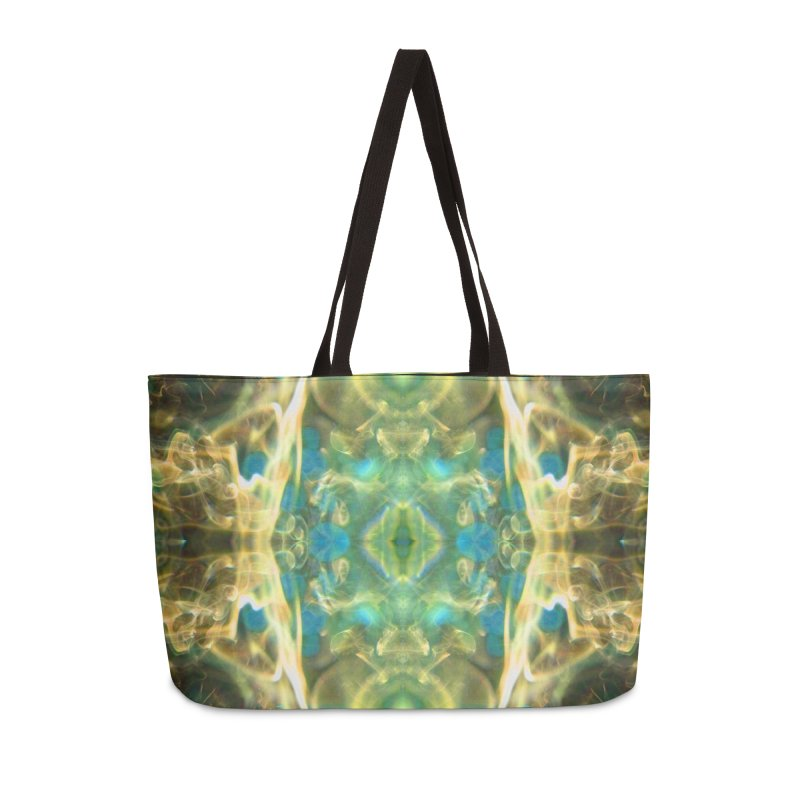 Smouldering Flower Accessories Bag by Trevor Ycas's Artist Shop