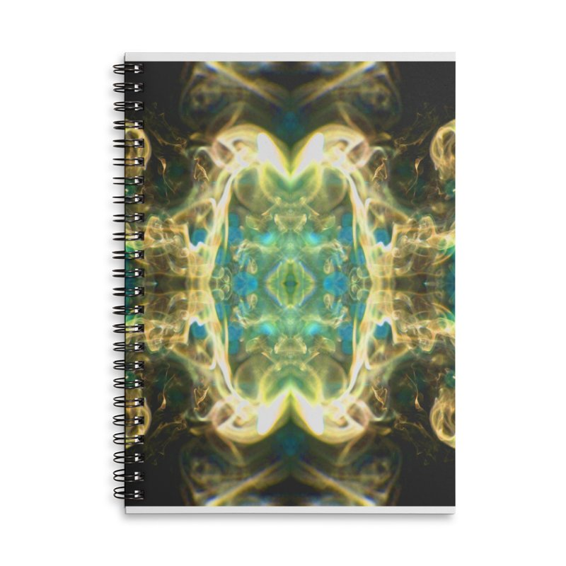 Smouldering Flower Accessories Notebook by Trevor Ycas's Artist Shop