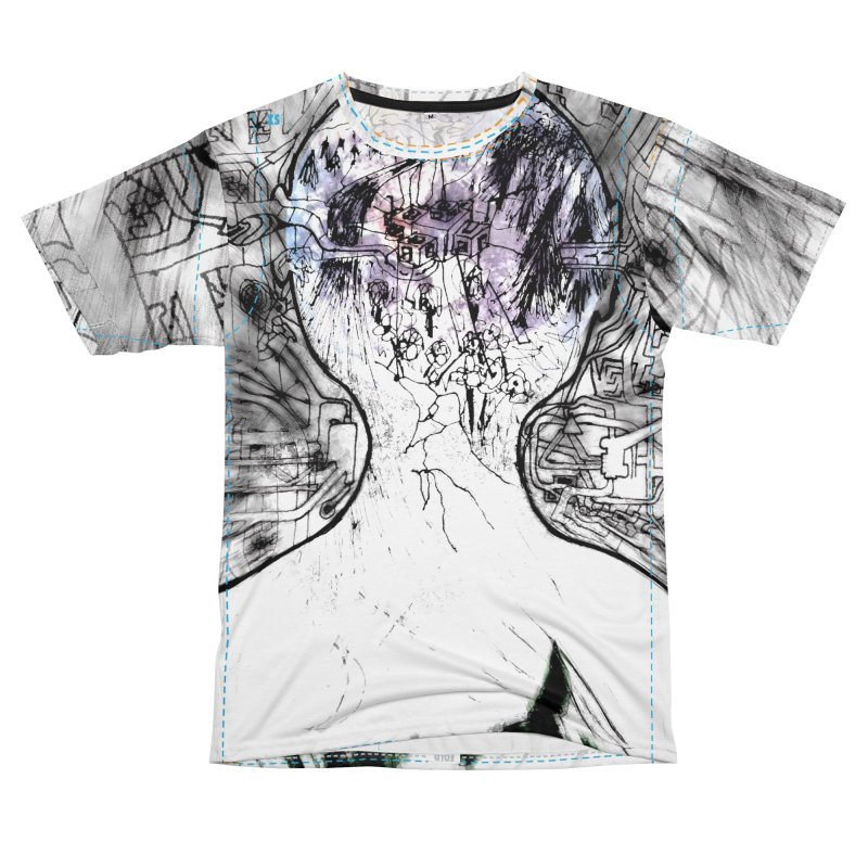 In/Out Women's Cut & Sew by Trevor Ycas's Artist Shop