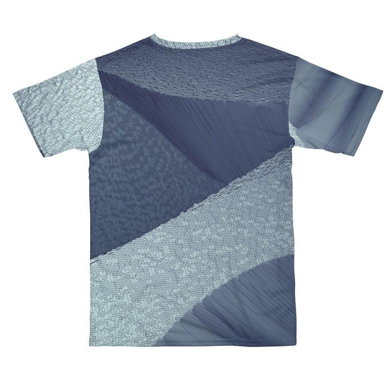 SoundScape: Blue Women's Cut & Sew by Trevor Ycas's Artist Shop