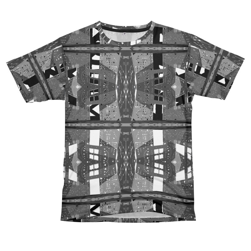 Framework: Landscape in Grey Men's Cut & Sew by Trevor Ycas's Artist Shop
