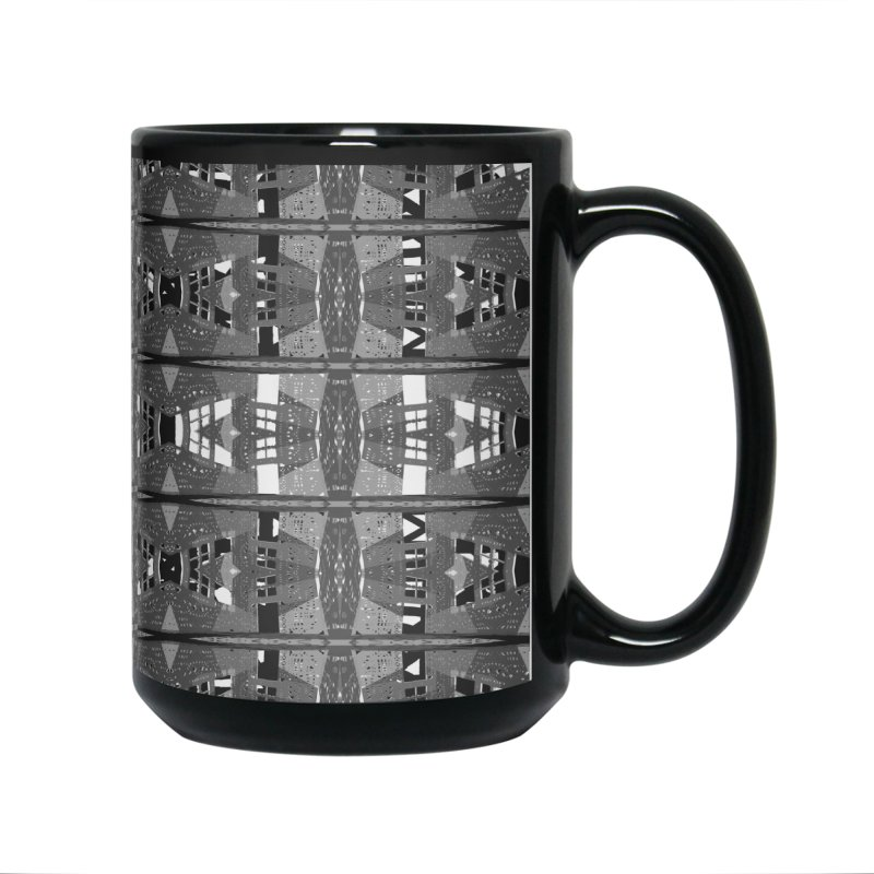 Framework: Landscape in Grey Accessories Mug by Trevor Ycas's Artist Shop