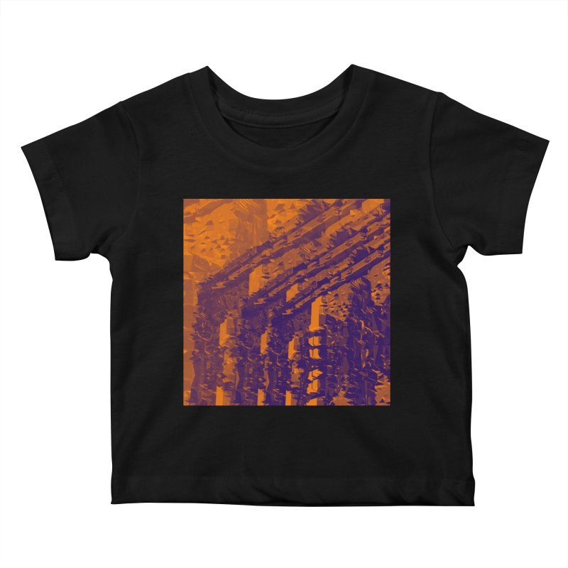 Urban Reduction: Neighborhood Fire Kids Baby T-Shirt by Trevor Ycas's Artist Shop