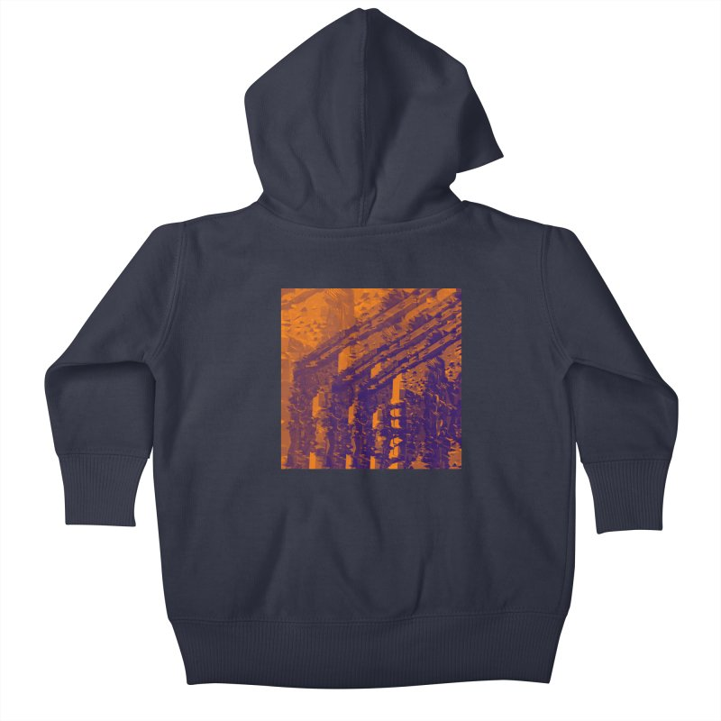 Urban Reduction: Neighborhood Fire Kids Baby Zip-Up Hoody by Trevor Ycas's Artist Shop