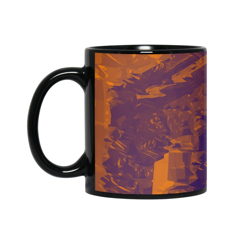 Urban Reduction: Neighborhood Fire Accessories Mug by Trevor Ycas's Artist Shop