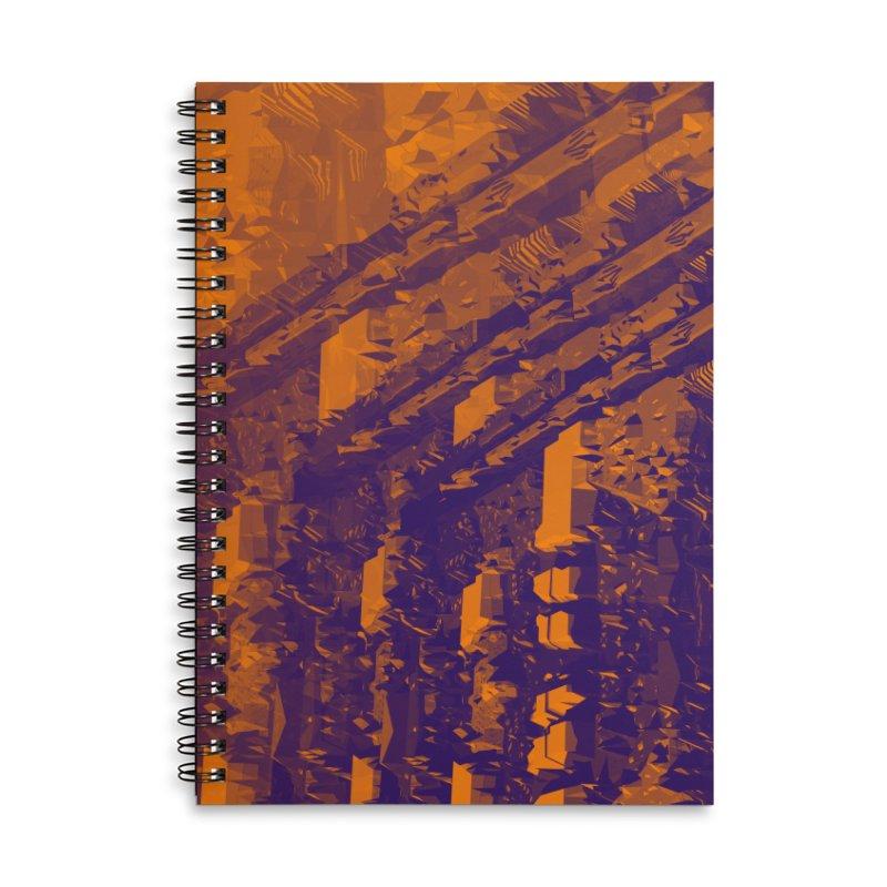 Urban Reduction: Neighborhood Fire Accessories Notebook by Trevor Ycas's Artist Shop