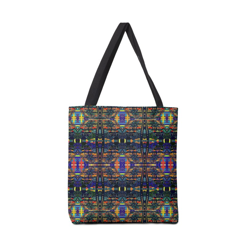 Framework Mandala: landscape Accessories Bag by Trevor Ycas's Artist Shop