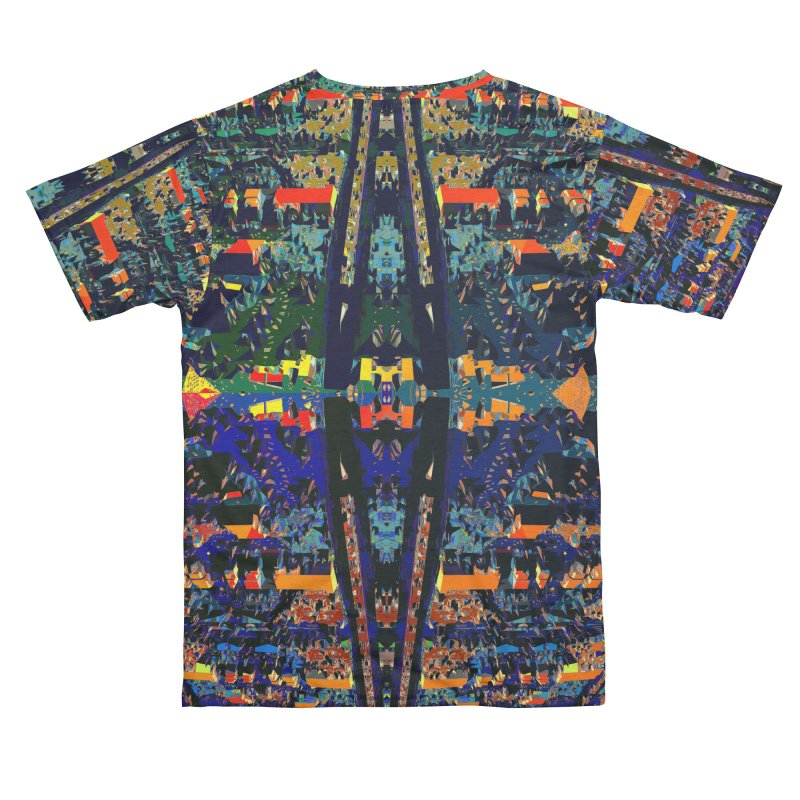 Urban Reduction: Neighborhood Mandala Men's Cut & Sew by Trevor Ycas's Artist Shop