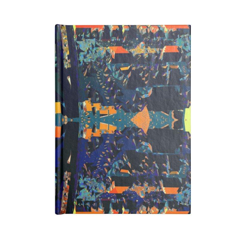 Urban Reduction: Neighborhood Mandala Accessories Notebook by Trevor Ycas's Artist Shop