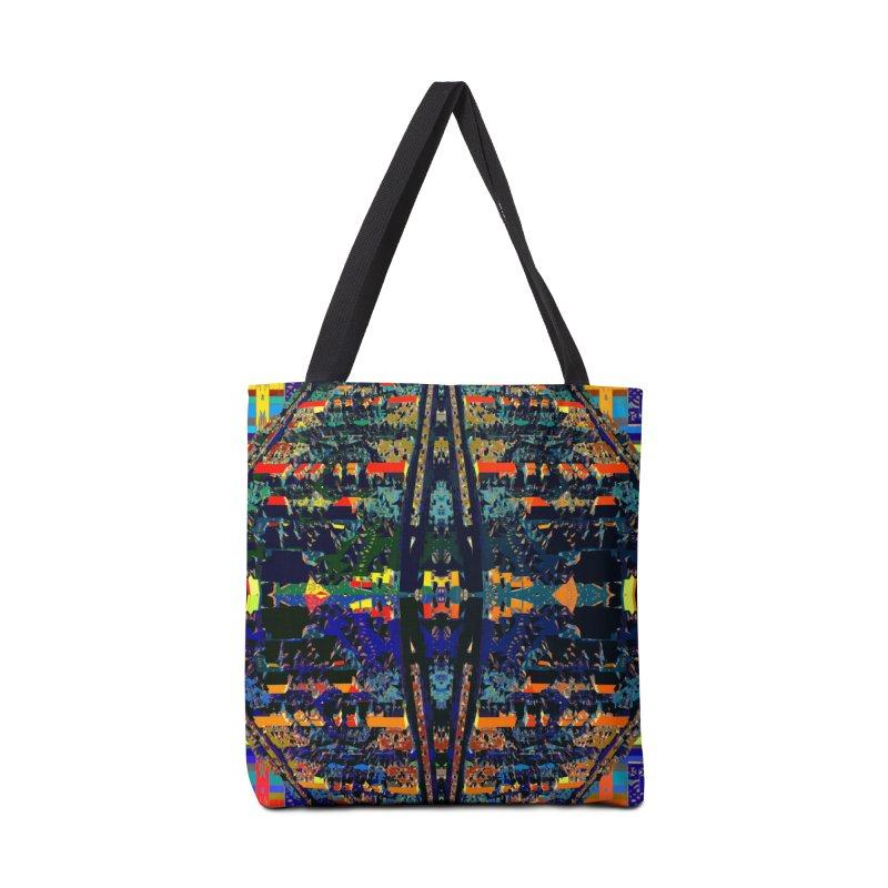 Urban Reduction: Neighborhood Mandala Accessories Bag by Trevor Ycas's Artist Shop