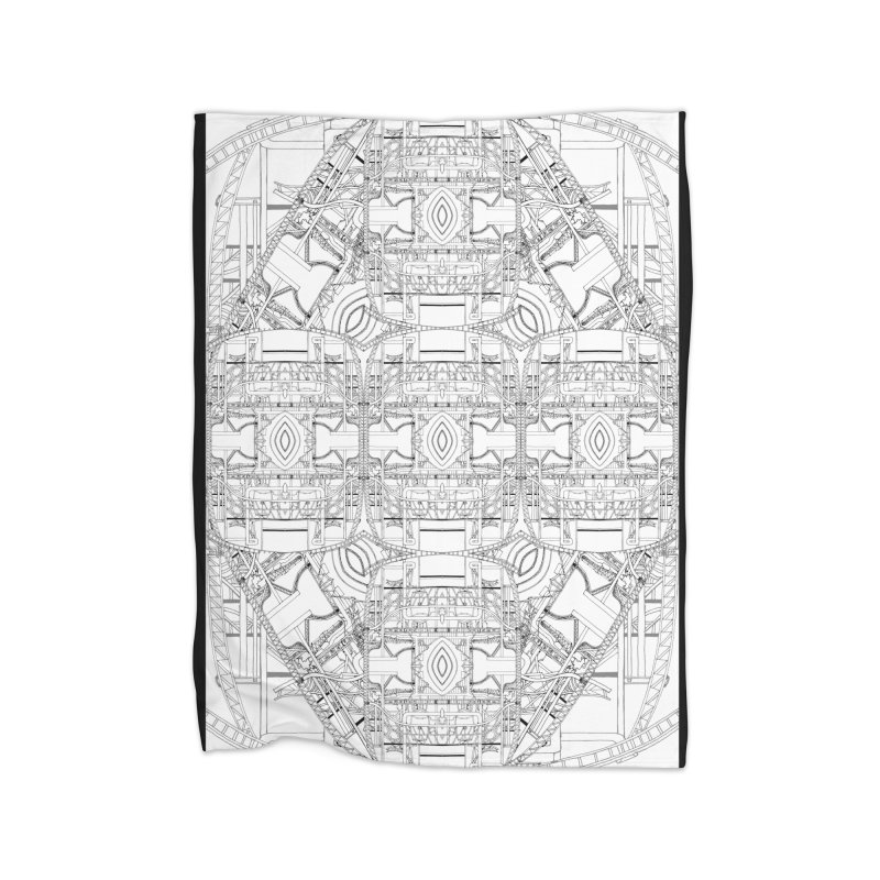 HydroCarbon Complexity 1 Home Blanket by Trevor Ycas's Artist Shop