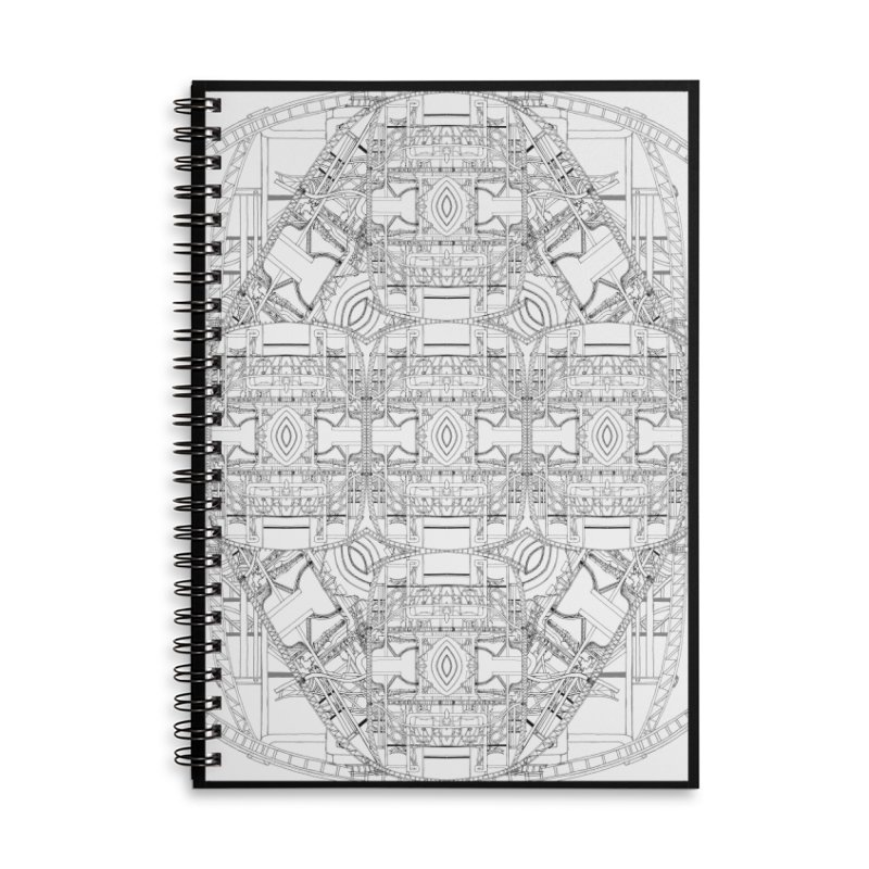 HydroCarbon Complexity 1 Accessories Notebook by Trevor Ycas's Artist Shop