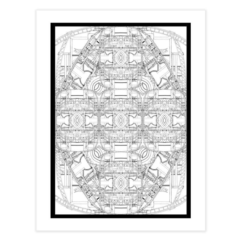 HydroCarbon Complexity 1 Home Fine Art Print by Trevor Ycas's Artist Shop