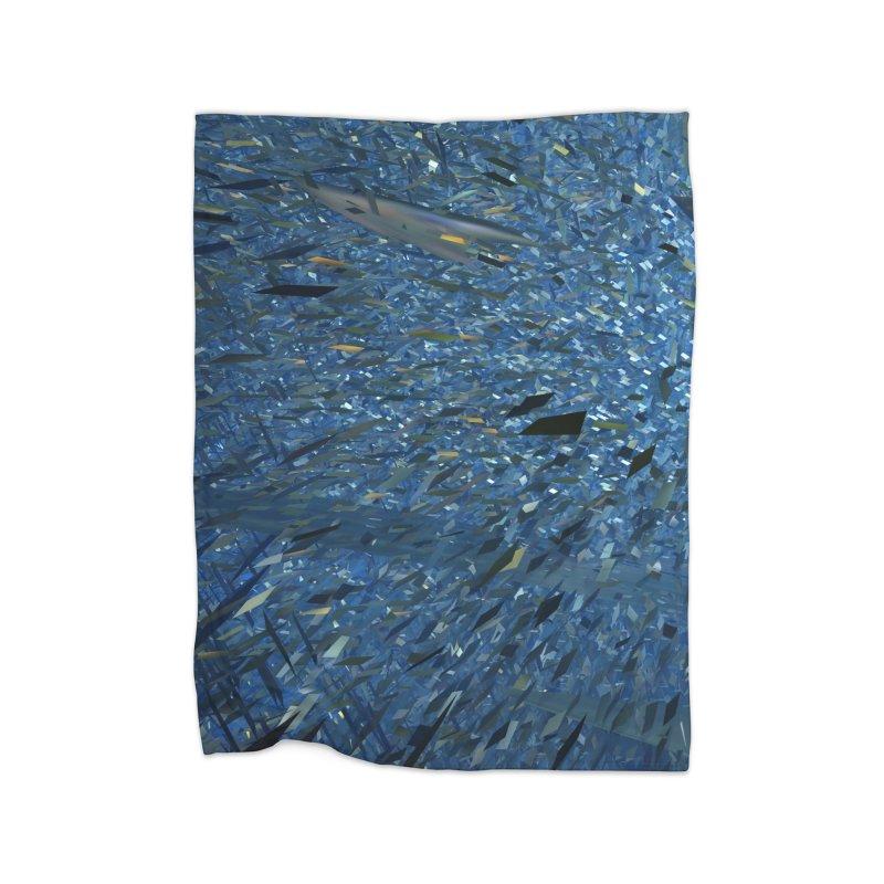 Ice Storm 1 Home Blanket by Trevor Ycas's Artist Shop