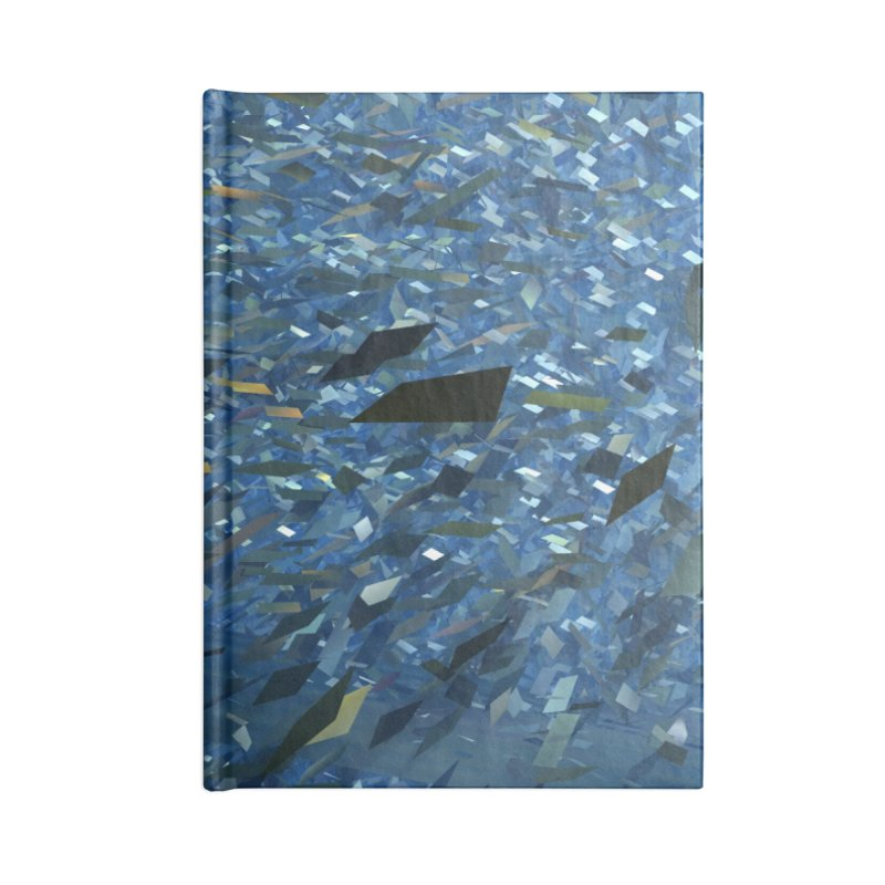Ice Storm 1 Accessories Notebook by Trevor Ycas's Artist Shop