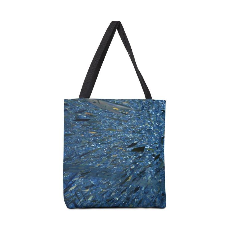 Ice Storm 1 Accessories Bag by Trevor Ycas's Artist Shop