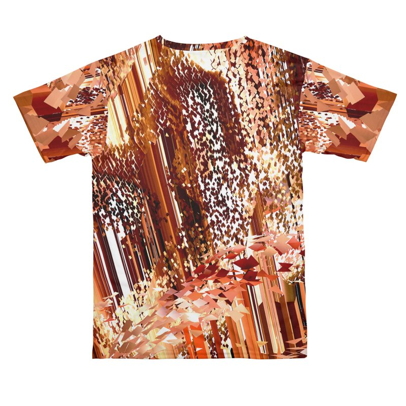 Digital Fire, Stoked Men's Cut & Sew by Trevor Ycas's Artist Shop