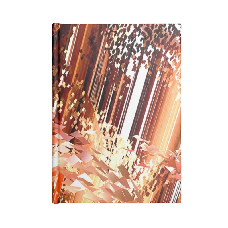 Digital Fire, Stoked Accessories Notebook by Trevor Ycas's Artist Shop