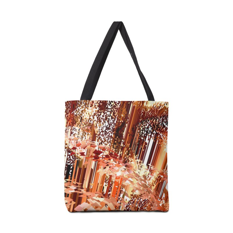 Digital Fire, Stoked Accessories Bag by Trevor Ycas's Artist Shop