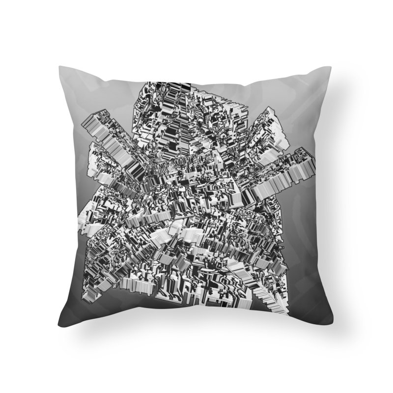 Compressed Extrusion Home Throw Pillow by Trevor Ycas's Artist Shop