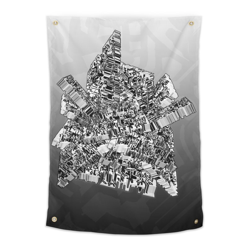 Compressed Extrusion Home Tapestry by Trevor Ycas's Artist Shop
