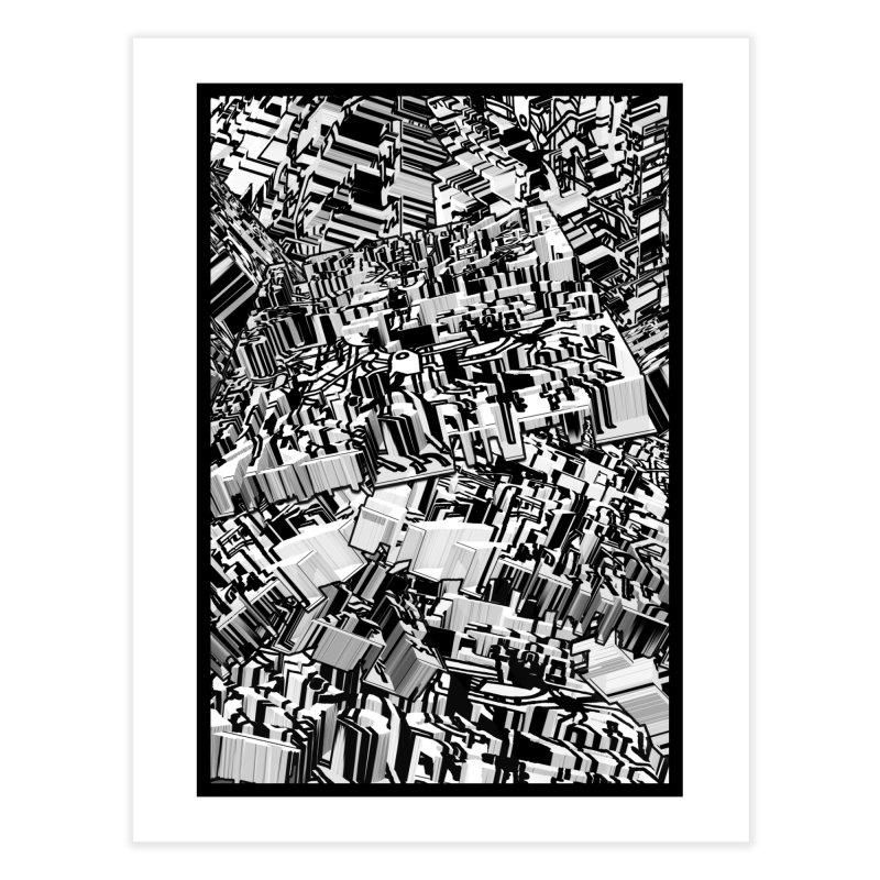 Compressed Extrusion: Confrontation Home Fine Art Print by Trevor Ycas's Artist Shop
