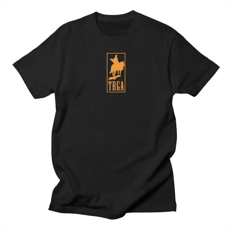 TRGA ORANGE Men's T-Shirt by TRGA Pro Shop