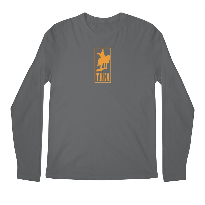 TRGA ORANGE Men's Regular Longsleeve T-Shirt by TRGA Pro Shop
