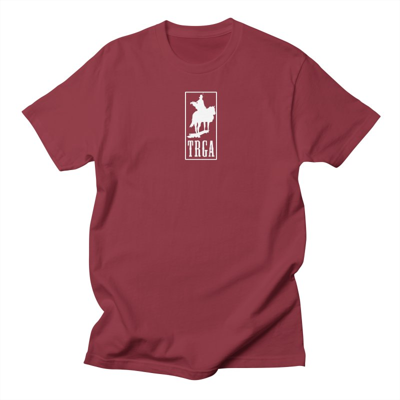 TRGA WHITE in Men's Regular T-Shirt Scarlet Red by TRGA Pro Shop