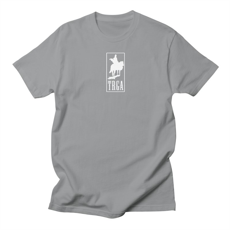 TRGA WHITE Men's Regular T-Shirt by TRGA Pro Shop
