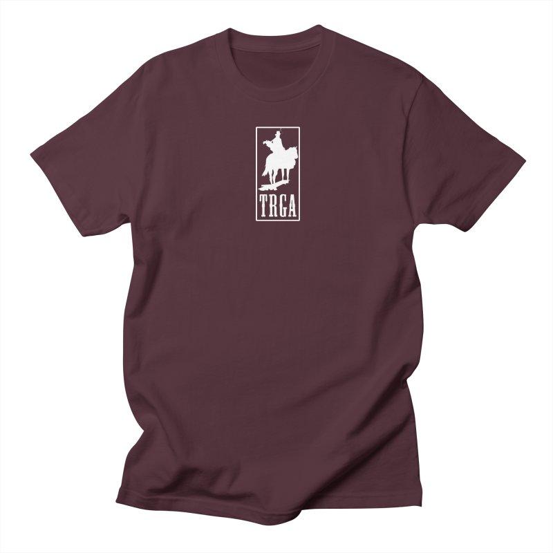 TRGA WHITE Men's T-Shirt by TRGA Pro Shop