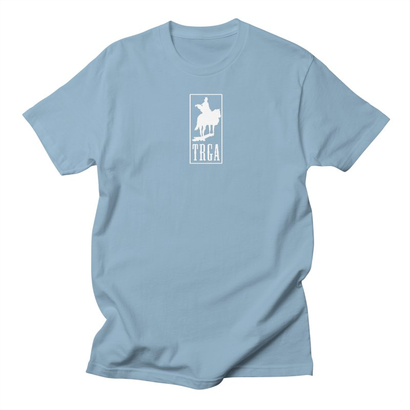 TRGA WHITE in Men's Regular T-Shirt Light Blue by TRGA Pro Shop