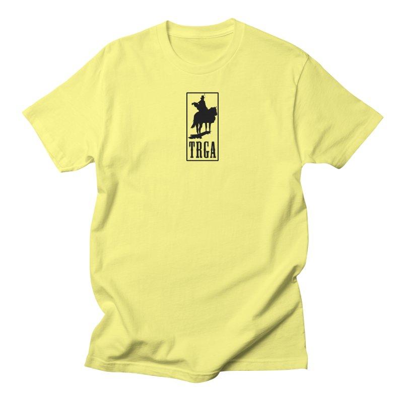 TRGA BLACK Men's Regular T-Shirt by TRGA Pro Shop