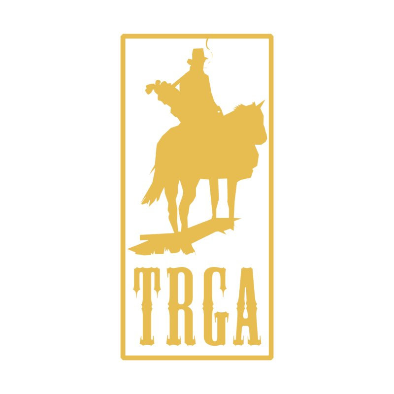 TRGA GOLD Men's T-Shirt by TRGA Pro Shop