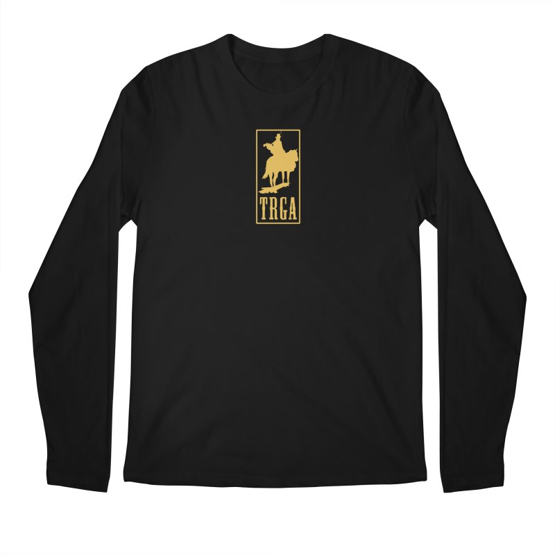TRGA GOLD Men's Longsleeve T-Shirt by TRGA Pro Shop