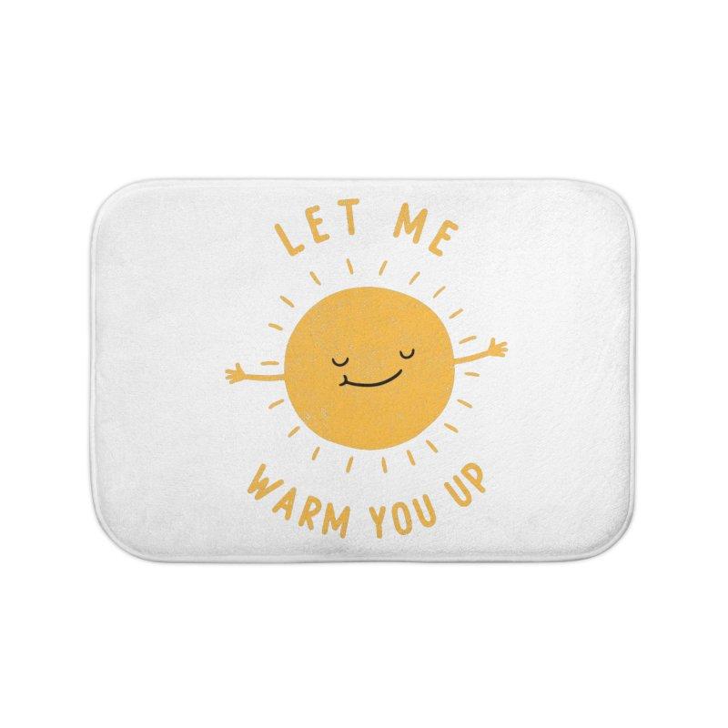 Let Me Warm You Up Home Bath Mat by triagus's Artist Shop