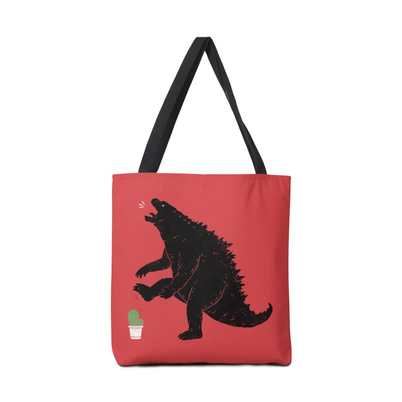 godzill-AWW Accessories Tote Bag Bag by triagus's Artist Shop