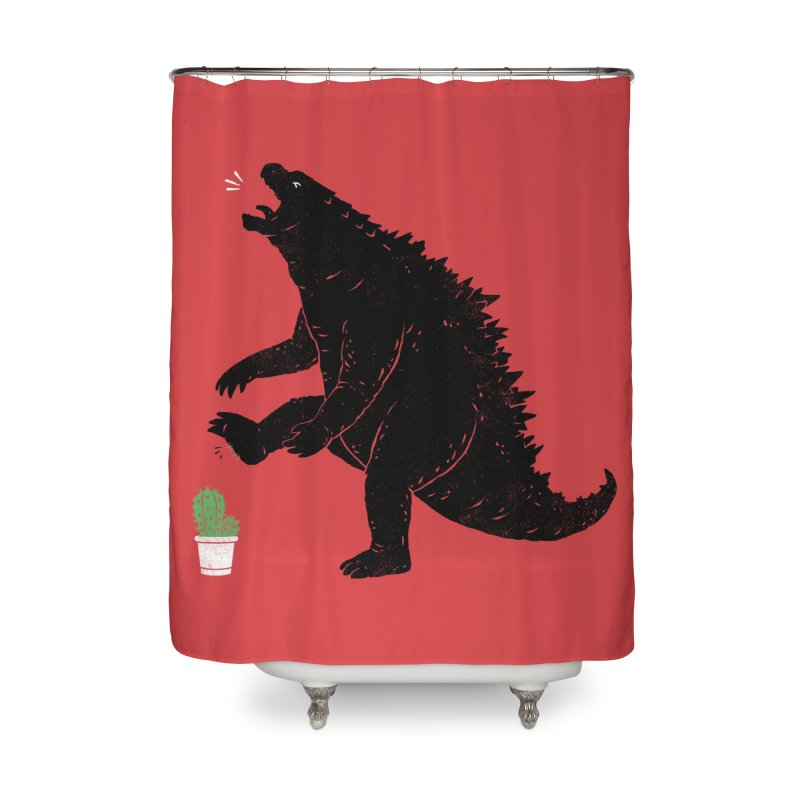 godzill-AWW Home Shower Curtain by triagus's Artist Shop